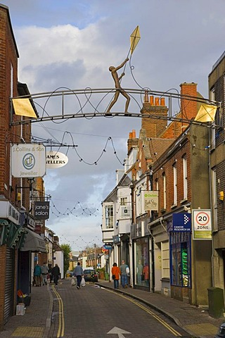 Parchment Street, Winchester, Hampshire, England, United Kingdom, Europe