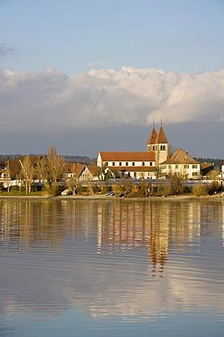 Church St. Peter und Paul, Reichenau island, Landkreis Konstanz county, Baden-Wuerttemberg, Germany, Europe