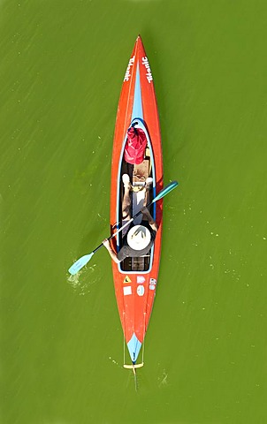 Kayak from above