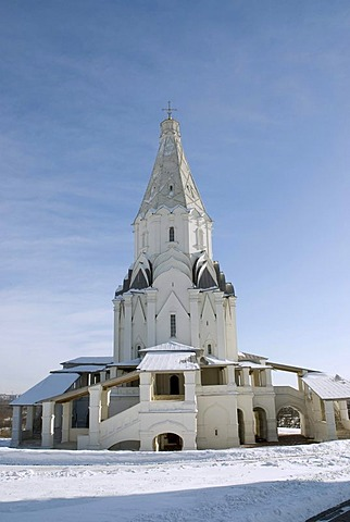 Church of the Ascension, Kolomenskoye estate, Moscow, Russia