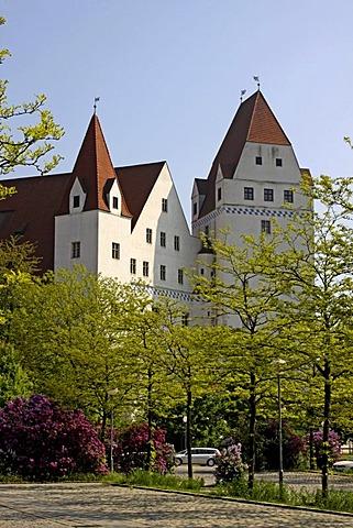 New Castle, residence of the Duke of Ingolstadt, Ingolstadt, Bavaria, Germany, Europe