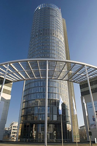 The RWE-Turm Tower, Essen, Ruhrgebiet area, North Rhine-Westphalia, Germany, Europe