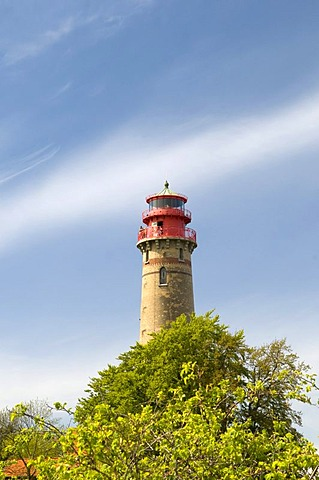 New Lighthouse at Cape Arkona, Ruegen island, Mecklenburg-Western Pomerania, Germany, Europe