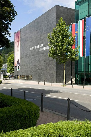 Museum of Art, Vaduz, Principality of Liechtenstein, Europe
