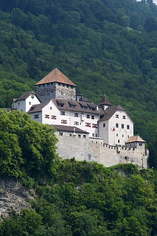 Liechtenstein Castle, Vaduz, Principality of Liechtenstein, Europe