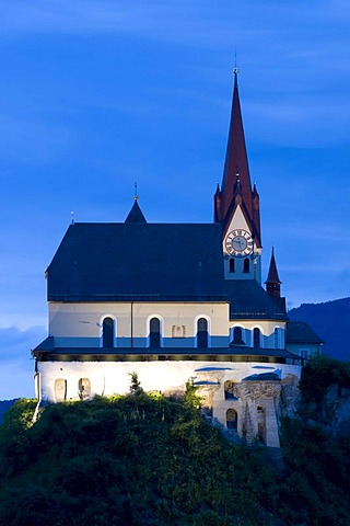 Basilica and Pilgrimage Church to Our Lady of the Visitation, Rankweil, Vorarlberg, Austria, Europe