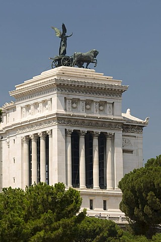 Monumento Nazionale a Vittorio Emanuele II National Monument to Victor Emmanuel II, Rome, Italy, Europe