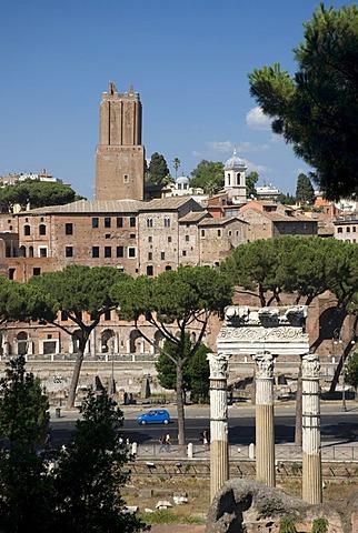 Trajan's Market, Rome, Italy, Europe