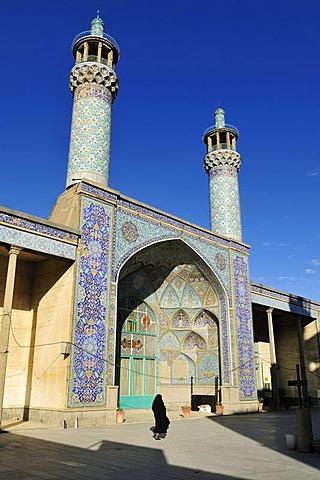 Historic Friday or Congregational Mosque in Hamadan, Hamedan, Iran, Persia, Asia