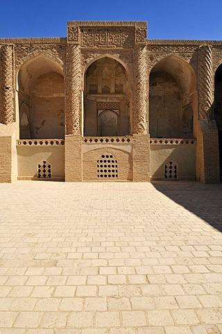 Historic Friday or Congregational Mosque of Nain, Isfahan, Esfahan, Iran, Persia, Asia