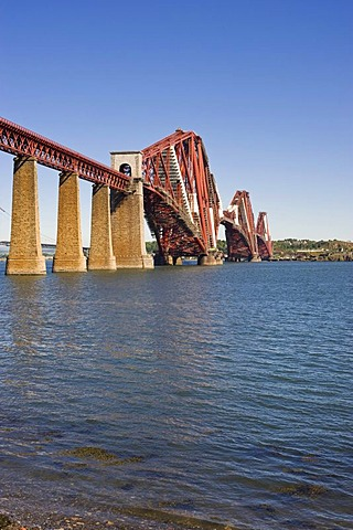 Forth Railway Bridge, Queensferry, Firth, Scotland, United Kingdom, Europe