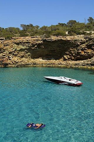 Cala Conta, Ibiza, Pine Islands, Balearic Islands, Spain, Europe