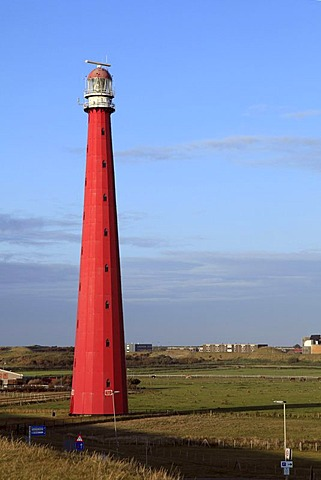 Lange Jaap Lighthouse, Kijkduin, Den Helder, province of North Holland, Netherlands, Europe