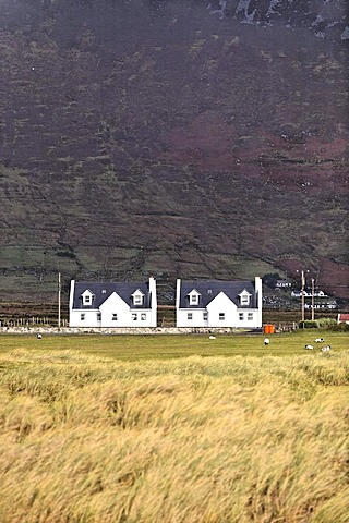 Cottages, Achill, Ireland, Europe