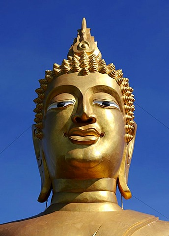 Head of a Buddha, Thailand, Asia