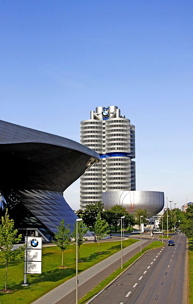 BMW Welt, BMW World, Munich, Bavaria, Germany, Europe