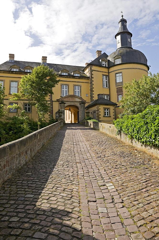 Friedrichstein Castle, Bad Wildungen, Hesse, Germany, Europe
