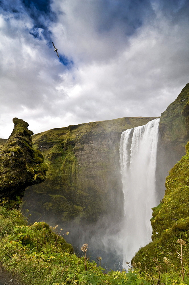 Skogarfoss, Iceland, Europe