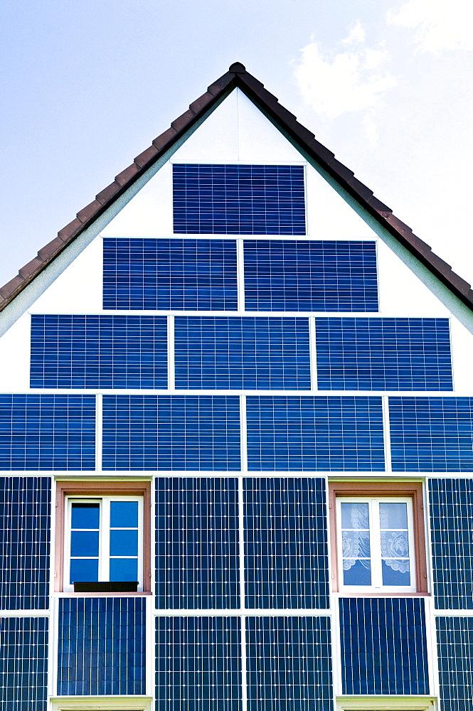 Solar panel facade - 832-196530