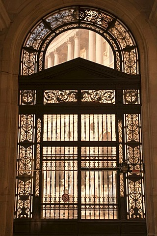 Portal, Neue Hofburg, New Imperial Palace, Heldenplatz square, Vienna, Austria, Europe