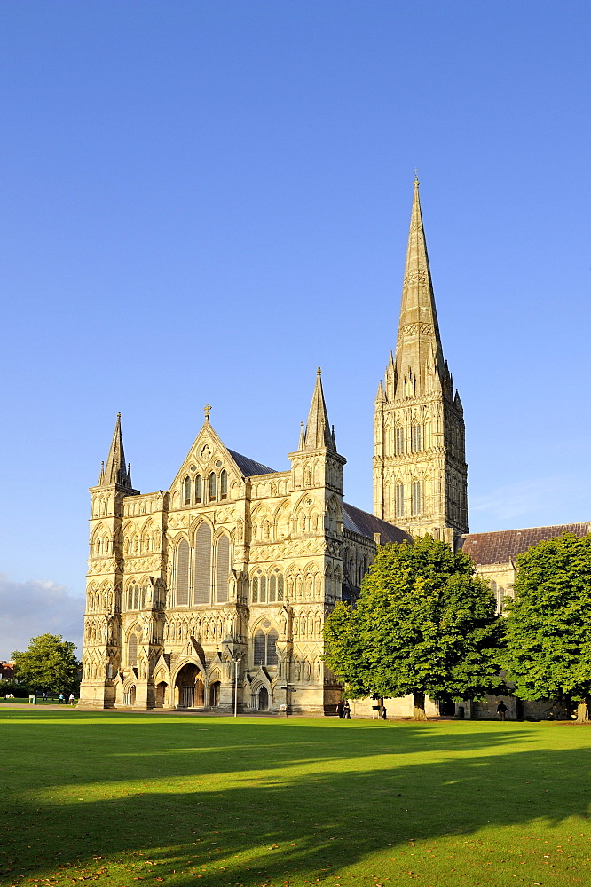 St. Mary's Cathedral in Salisbury, Wiltshire, England, United Kingdom, Europe