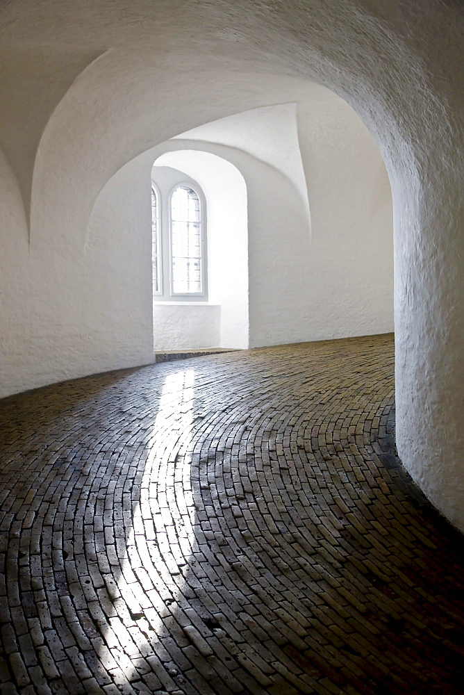 Inside the Round Tower, Copenhagen, Denmark, Europe