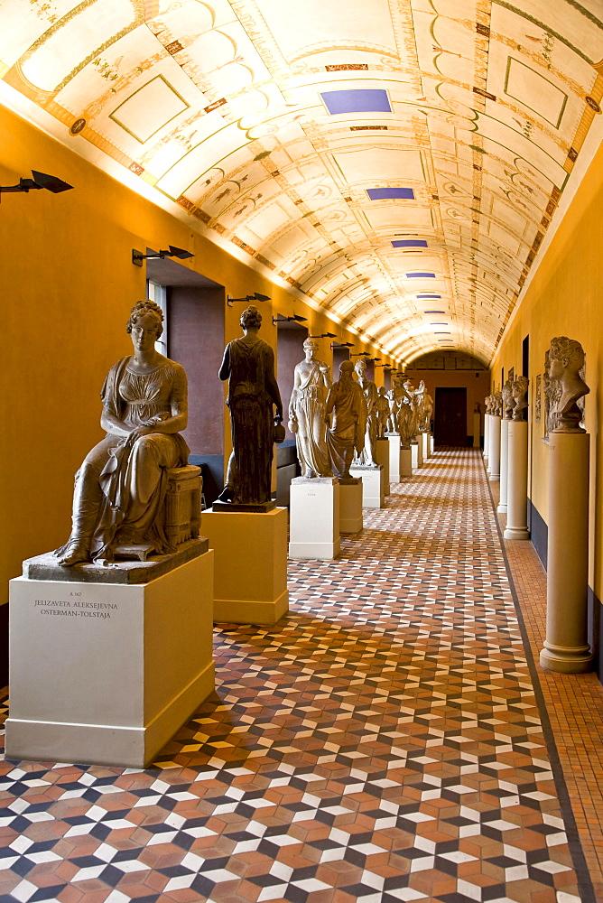 Inside Thorvaldsens Museum in Copenhagen, Denmark, Europe