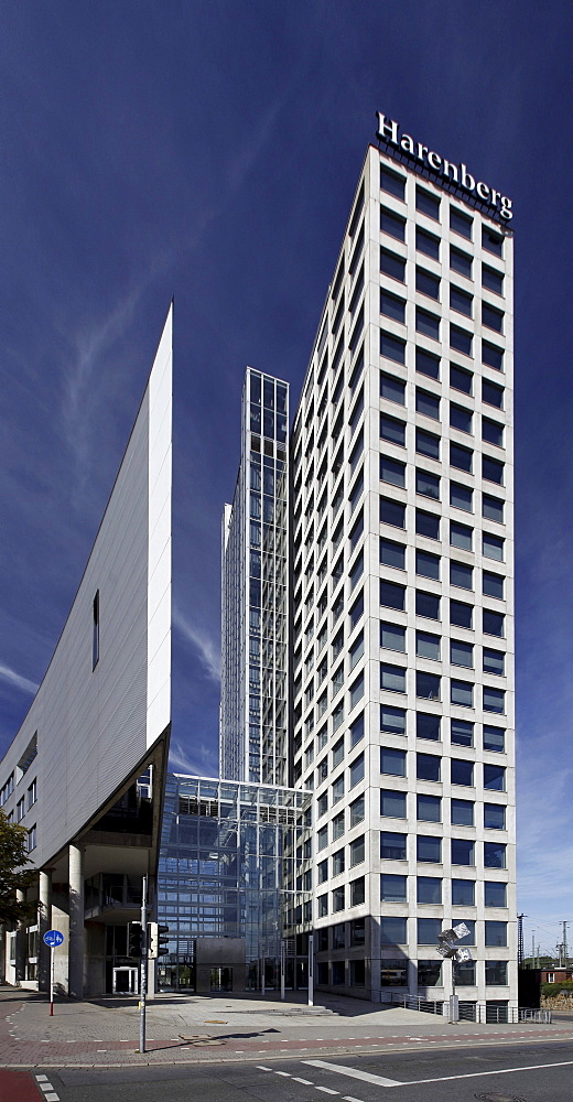 Harenberg City-Center, office high-rise building and convention center, Dortmund, North Rhine-Westphalia, Germany, Europe