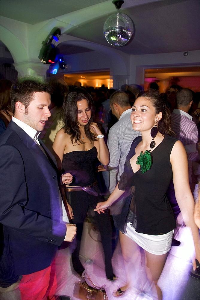 La Giara disco, nightlife in Taormina, province of Messina, Sicily, Italy, Europe