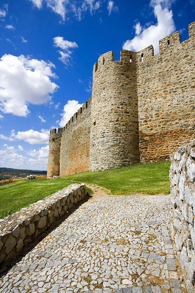 Portel castle, Alentejo, Portugal, Europe