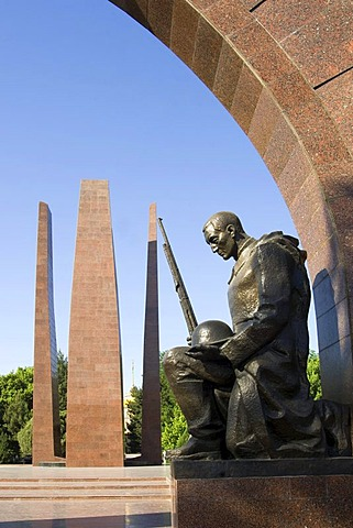 Memorial to the Second World War veterans, Ashgabat, Turkmenistan