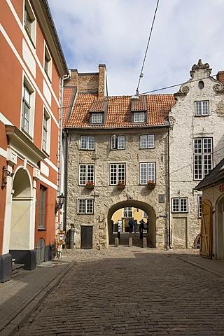 Swedish gate, Riga, Latvia, Baltic states, PublicGround