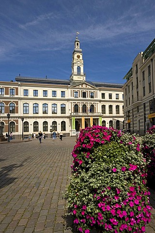City hall, Riga, Latvia, Baltic states, PublicGround