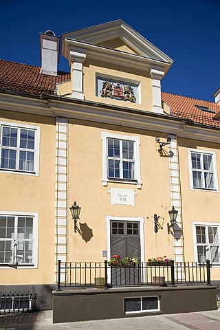 Town house at the city wall, Tornu Iela, Riga, Latvia, Baltic States, PublicGround