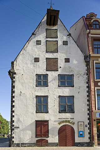 Mencendorff's House, a branch of the Riga Museum of History and Navigation, Riga, Latvia, Baltic States, PublicGround