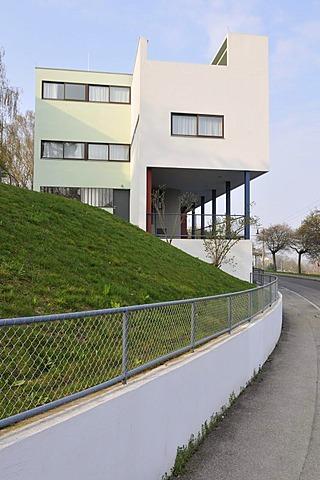 High quality stock photos of jeanneret for Villas weissenhofsiedlung