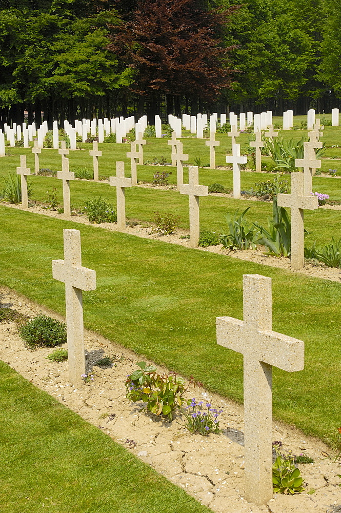 Thiepval First World War Cemetery, Picardie, Somme valley, France, Europe