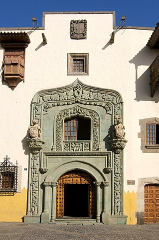 Casa de Colon, Las Palmas, Grand Canary, Canary Islands, Spain