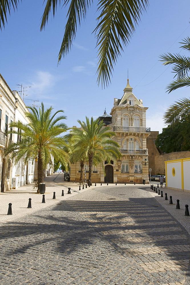 Historic centre in Faro, Algarve, Portugal, Europe