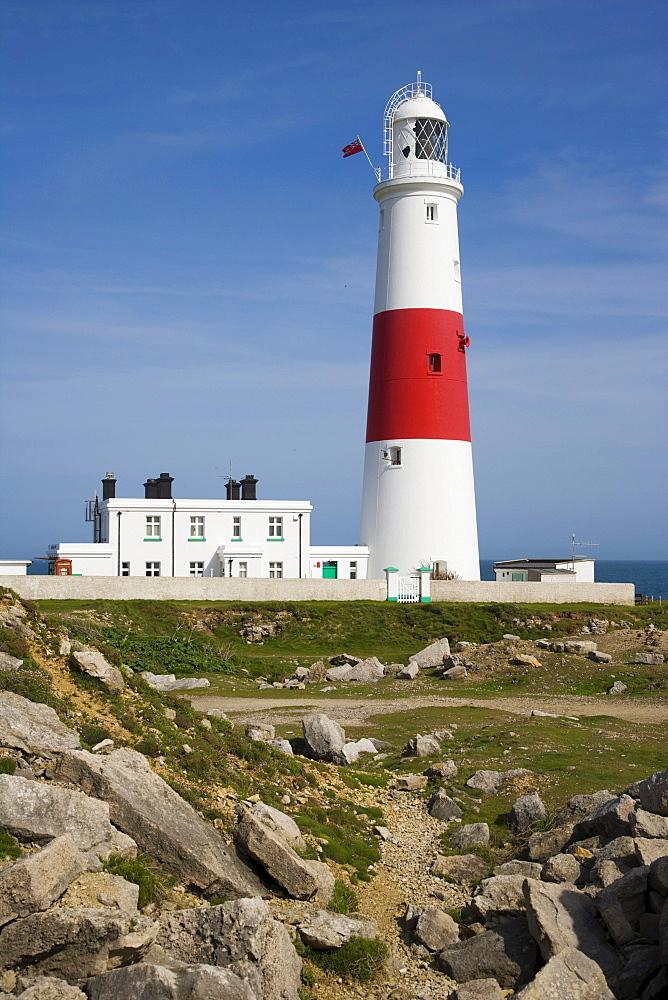 Portland Bill Lighthouse, Isle of Portland, Dorset, England, United Kingdom, Europe