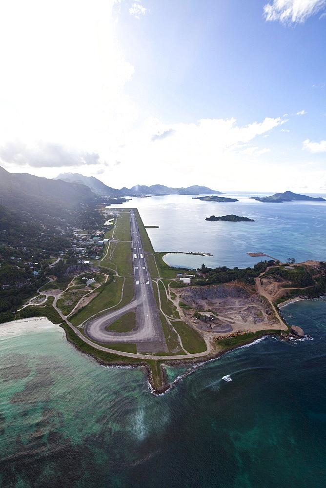 The international airport of Mahe, Mahe Island, Seychelles, Indian Ocean, Africa