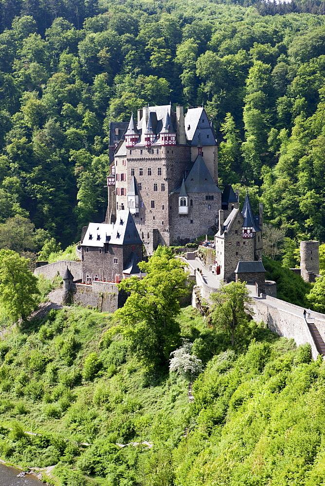 Burg Eltz Castle, Wierschern, Rhineland-Palatinate, Germany, Europe