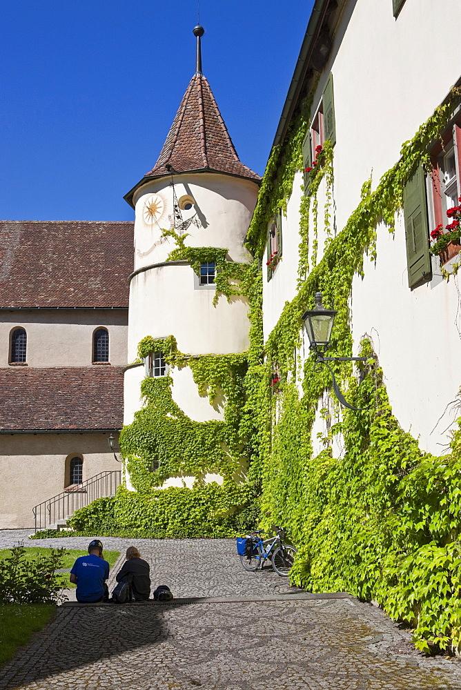 Benedictine St Mary and Markus Abbey, Mittelzell, Reichenau Island, Lake Constance, Baden-Wuerttemberg, Germany, Europe