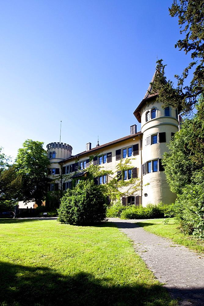 Koenigsegg Castle, Reichenau Island, Lake Constance, Baden-Wuerttemberg, Germany, Europe