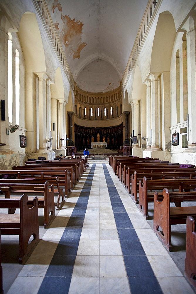 The cathedral in Stonetown, Stone Town, Zanzibar, Tanzania, Africa