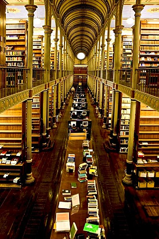 The old University library in Copenhagen, Denmark