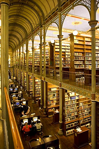 The University library in Copenhagen, Denmark