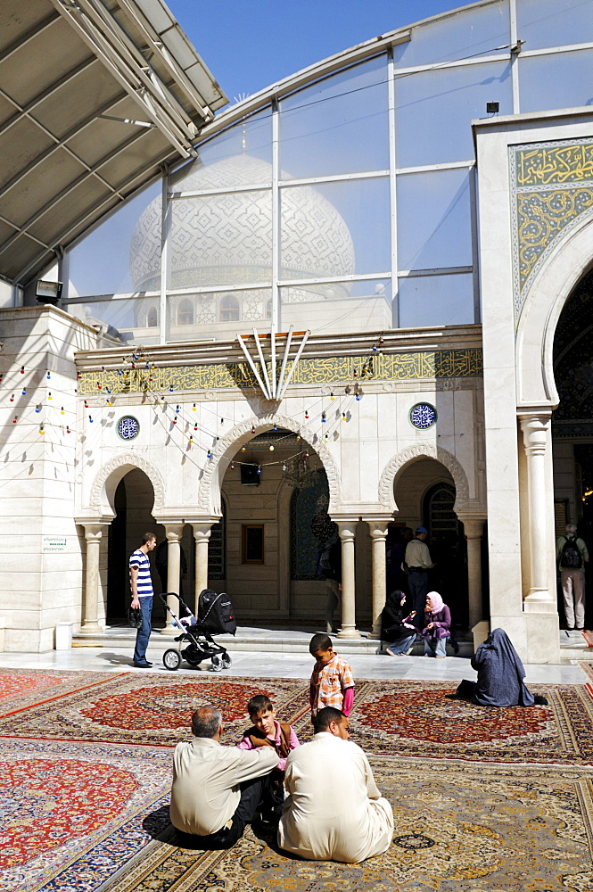 Shia Ruqqaya-Mosque in Damascus, Syria, Middle East, Asia
