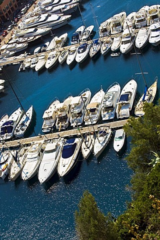 Fontvieille, luxury bay in Monte Carlo in the Principality of Monaco, Europe
