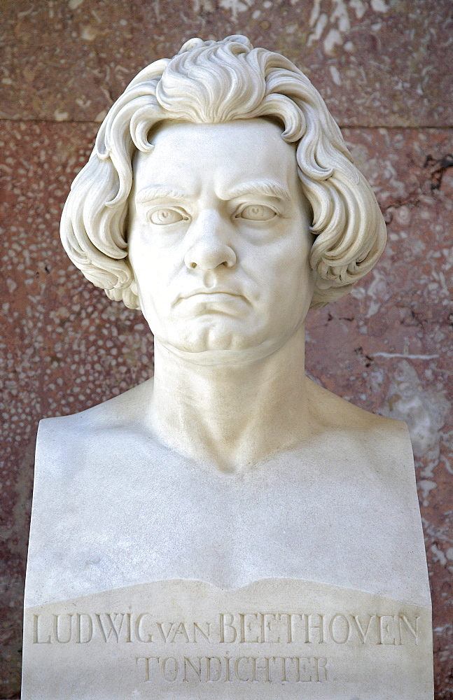 Bust of Ludwig van Beethoven, Composer of the First Viennese School